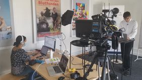Business TV Live-Streaming Session Bern