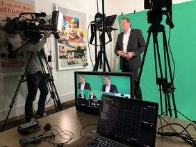 Professionelles Live Streaming aus dem TV-Studio