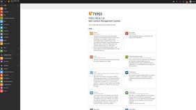 TYPO3 CMS Backend